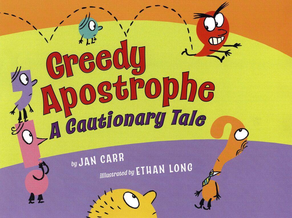 Greedy apostrophe book